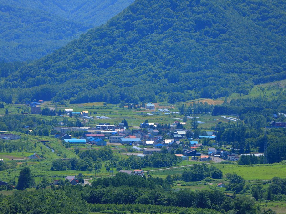 赤井川村の景色