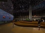 ヒルズ展望台に大平貴之さんが手がけるプラネタリウム