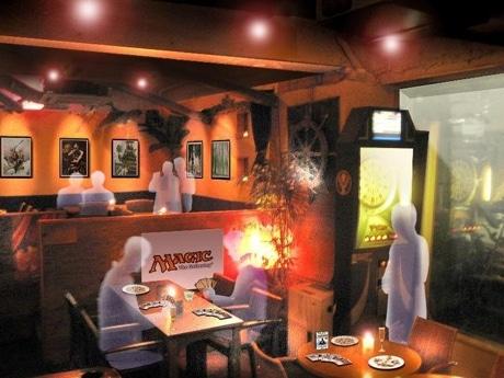 「マジック:ザ・ギャザリング バー」のイメージ