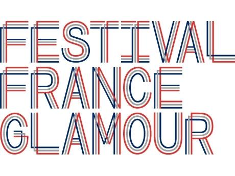 写真=「FESTIVAL FRANCE GLAMOUR(フェスティバル・フランス・グラムー ル)」ロゴマーク。