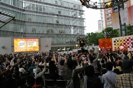 六本木から東京を元気にするプロジェクト「TOKYO M.A.P.S」(昨年の様子)。