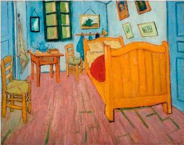 フィンセント・ファン・ゴッホ「アルルの寝室」(1888年)。ファン・ゴッホ美術館(フィンセント・ファン・ゴッホ財団)©Van Gogh Museum, Amsterdam (Vincent van Gogh Foundation)