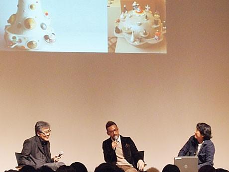 「伝統が開く日本の未来」講座に登場した南條史生さん、中田英寿さん、栗林隆さん