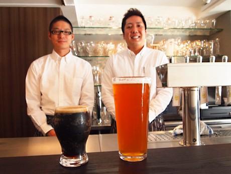 ドリームプランを実現させた関根さん(右)と那須さん(左)