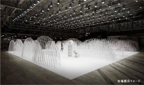 「サローネ・イン・ロッポンギ」で展示されるnendoのインスタレーションのイメージ