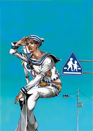 「ジョジョリオン -ジョジョの奇妙な冒険 Part8-」荒木飛呂彦 © LUCKY LAND COMMUNICATIONS/SHUEISHA