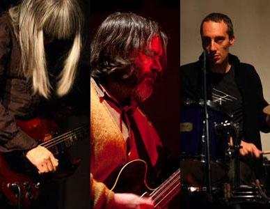 3月2日にライブを予定する灰野敬二さん、ジム・オルークさん、オーレン・アンバーチさん(Photo by 松尾宇人さん)