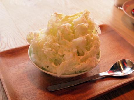 「アボカドマスカルポーネ」かき氷