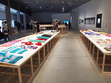 「活動のデザイン展」会場風景