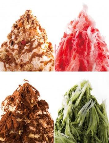 「KAKIGORI CAFE & BAR yelo」のかき氷が1周年を記念して無料に