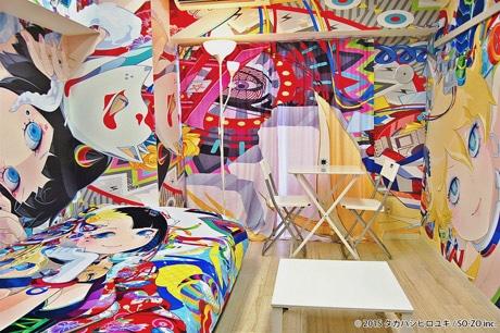 タカハシヒロユキさんがデザインした「痛部屋」
