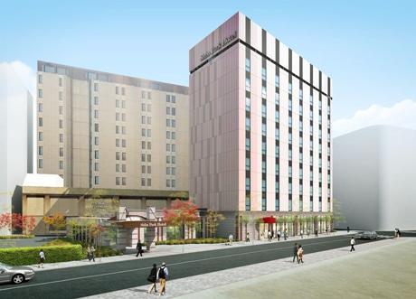「芝パークホテル151」の外観(イメージ)