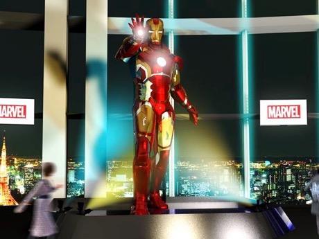 六本木ヒルズで大規模「マーベル展」 日本初・巨大アイアンマン像も