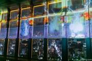 東京タワーが「ファイナルファンタジー」とコラボ ゲームキャラの4D映像投影