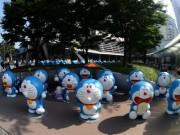 六本木で今年も夏祭り 「クレヨンしんちゃん」の「らくがき部屋」も