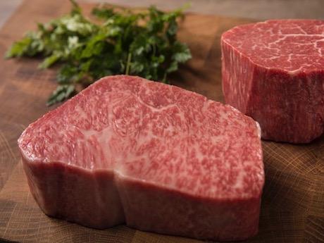 国産黒毛和牛A5ランクのみを使用した肉料理を提供