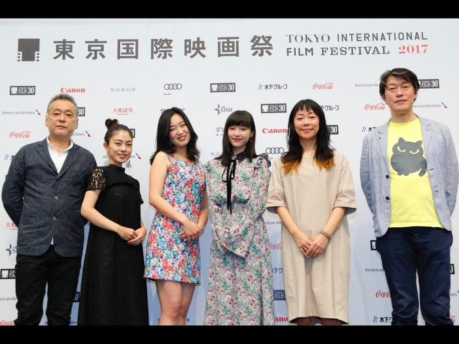 先に行われた「第30回東京国際映画祭」ラインナップ記者会見の様子