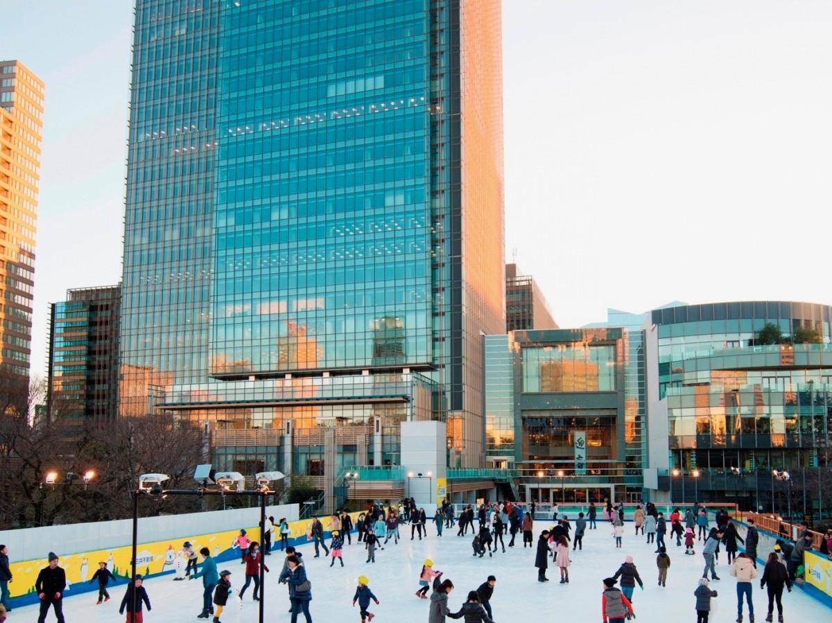 都内最大級の屋外アイススケートリンクがミッドタウンに登場
