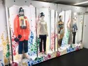 東京ミッドタウンに日本代表応援ブース 羽生結弦選手の競技用具など展示