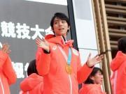 ミッドタウンでオリンピック帰国報告会 羽生選手、小平選手、カー娘らが登壇