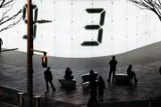 六本木で3日間限定の光のパブリックアート 東日本大震災の風化防止を目的に