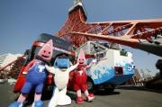 東京タワーとお台場間でオープントップバス運行 5月末まで毎日往復6便