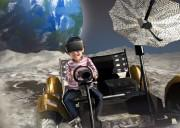 VRによる月面探査体験(イメージ)