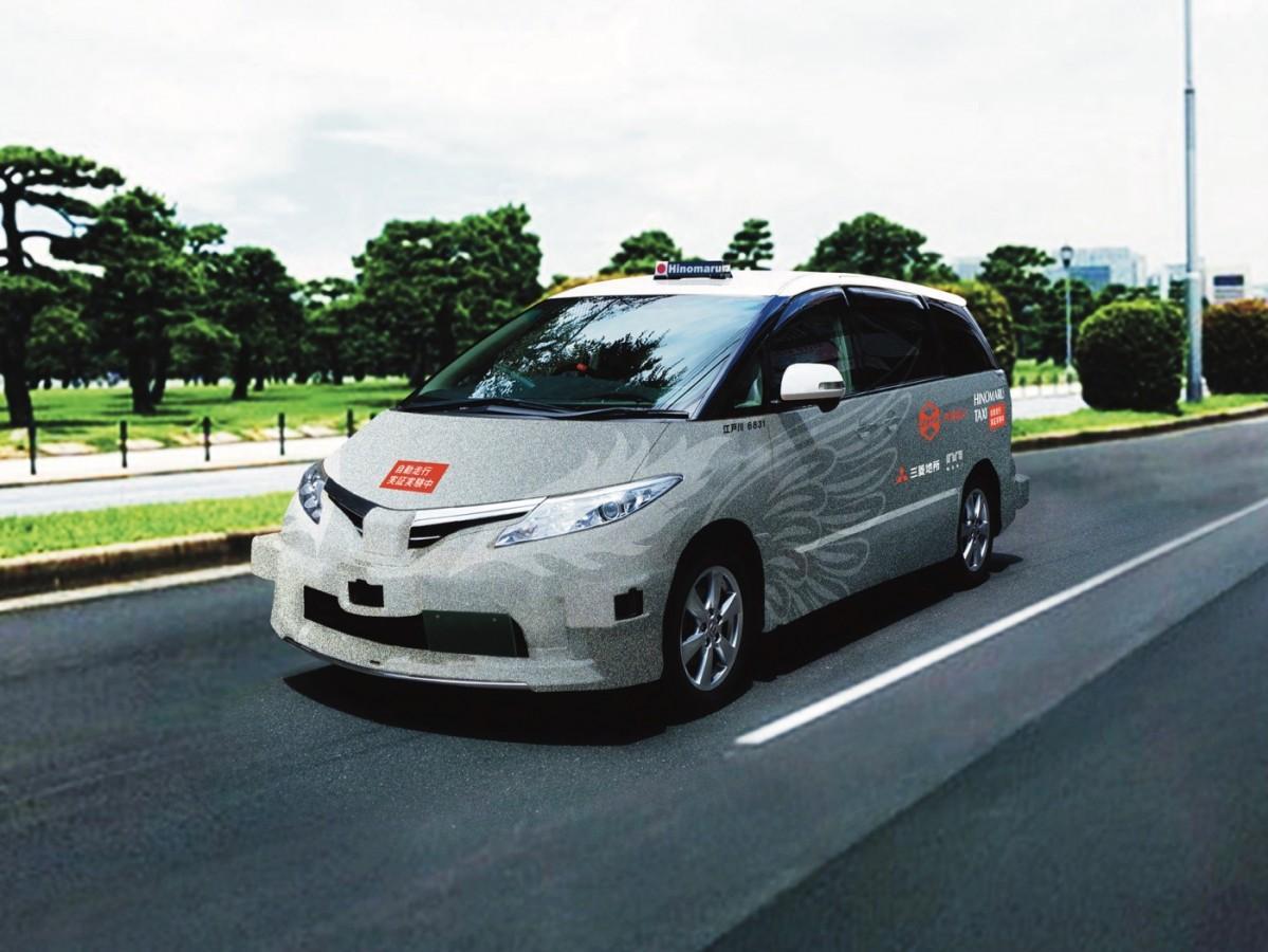 プロジェクトで使われる車両RoboCar® MinVan(イメージ)