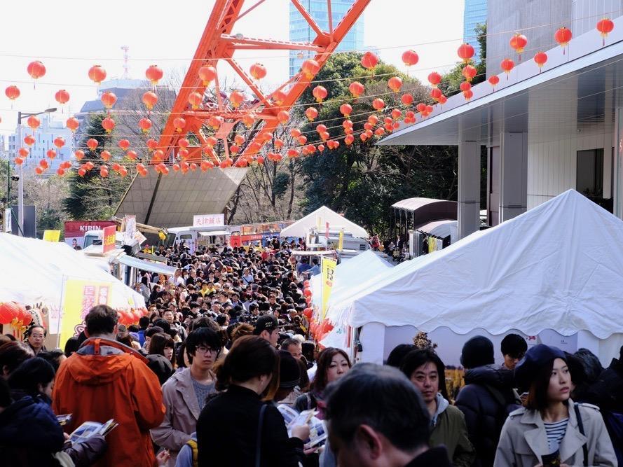 約10万人が来場した前回(2017年3月)開催時の様子
