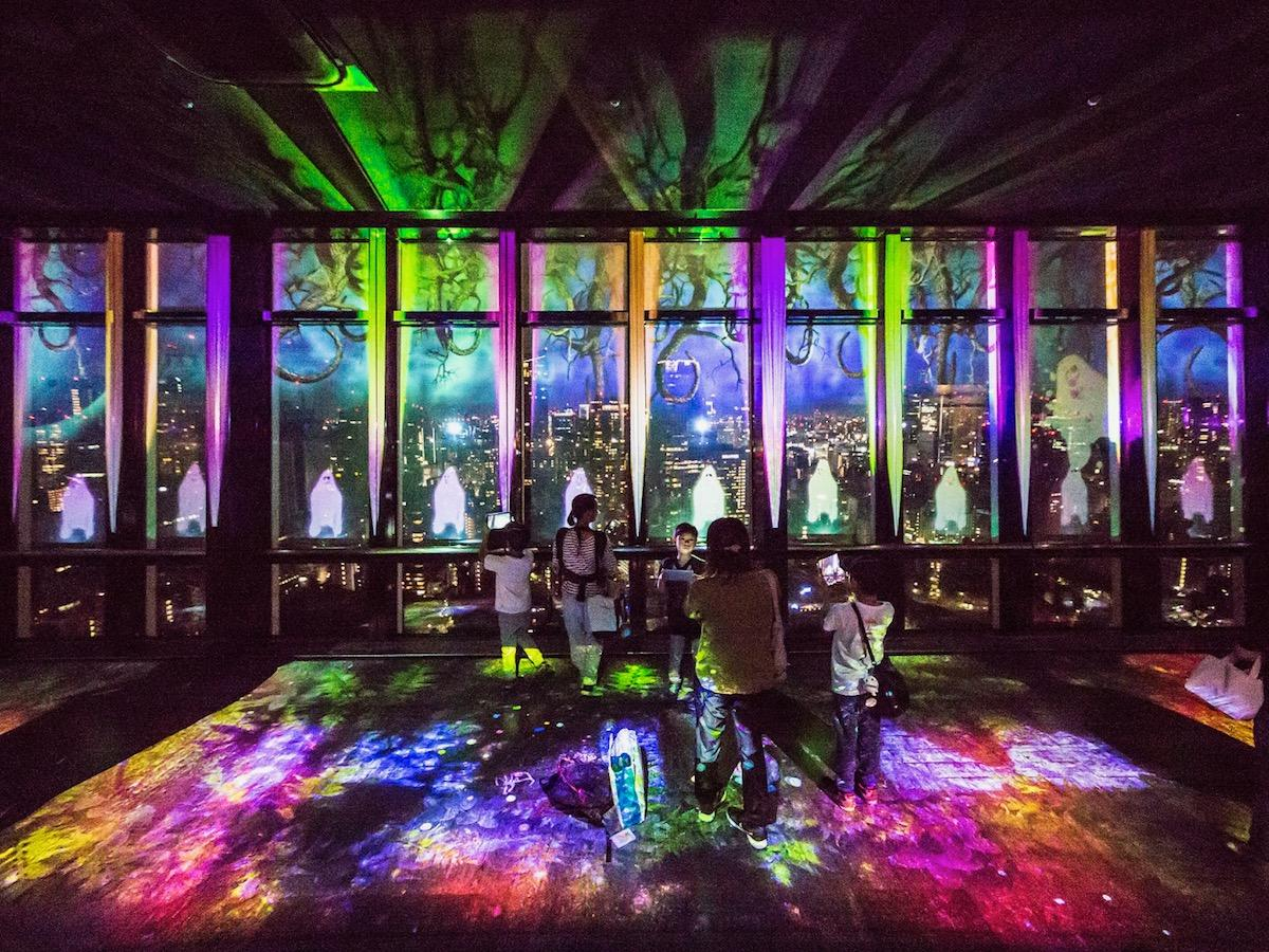 昨年に続いて2回目の開催となるプロジェクションマッピングイベント「TOKYO TOWER HALLOWEEN NIGHT FANTASIA」