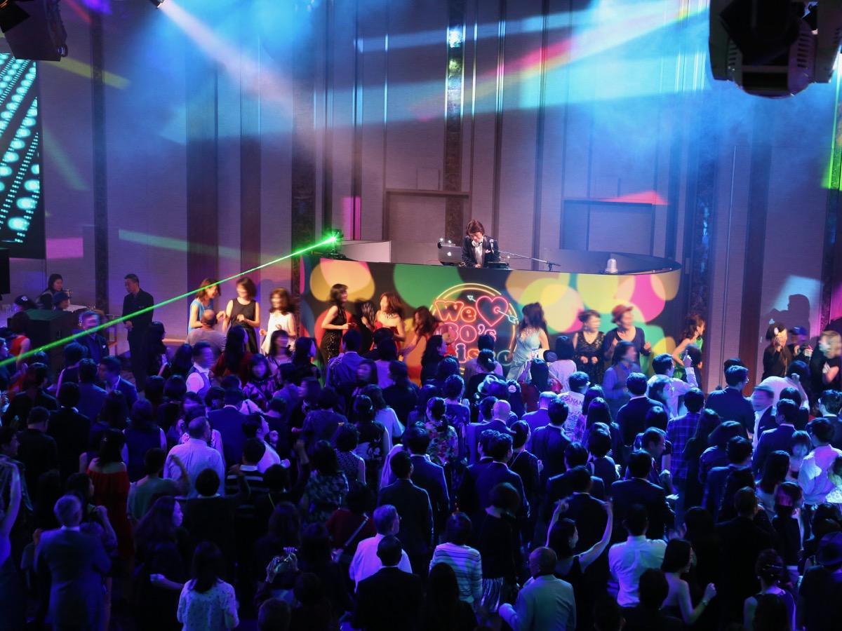 0年代の音楽を楽しめるイベント「We ● 80s Disco」イメージ