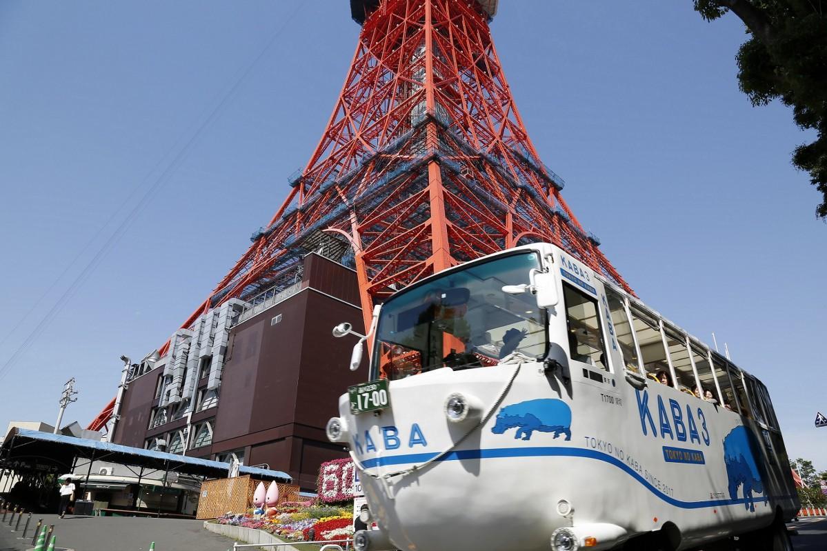 東京タワーで行う体験型学習イベント「東京タワー展望教室&KABA3 ツアー!」のイメージ