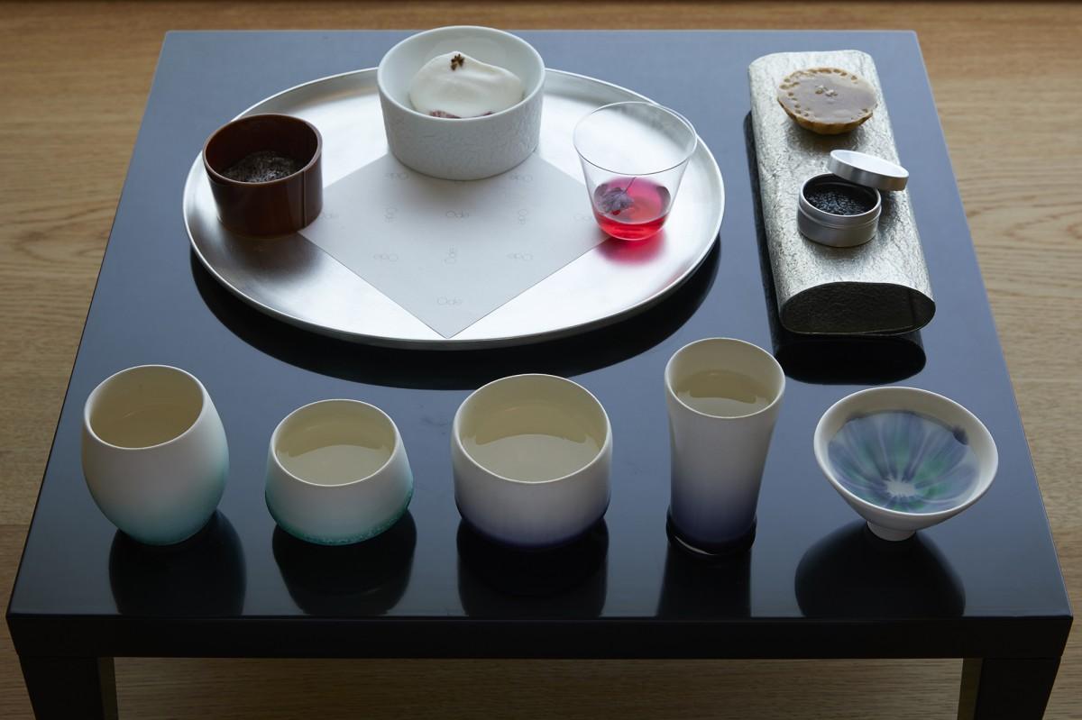 「長谷川栄雅 六本木」で提供する「日本酒体験」メニュー