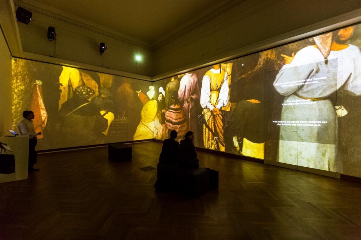 「ブリューゲルの間」 学術指導:ベルギー王立美術館 © Royal Museums of Fine Arts of Belgium, Brussels:Bruegel Box / photo: Olivier Anbergen-I Love Light