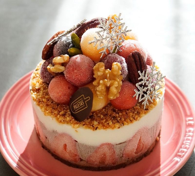 「パレタス」のアイスケーキ「フォレ アプリマク」(4,950円)