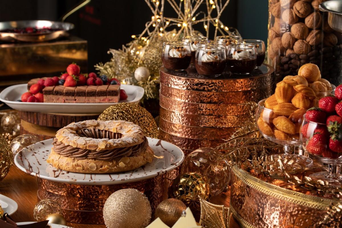 フレンチ キッチン「チョコレート アフタヌーンティー」スイーツイメージ