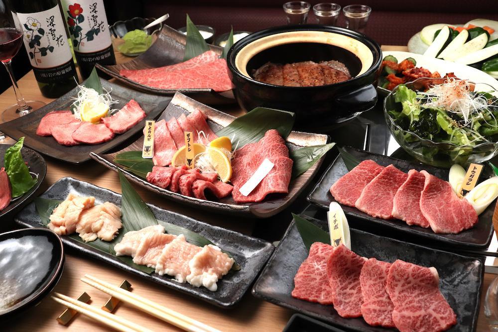 「雪むろ芳醇和牛」を提供する焼き肉店「にく稲」