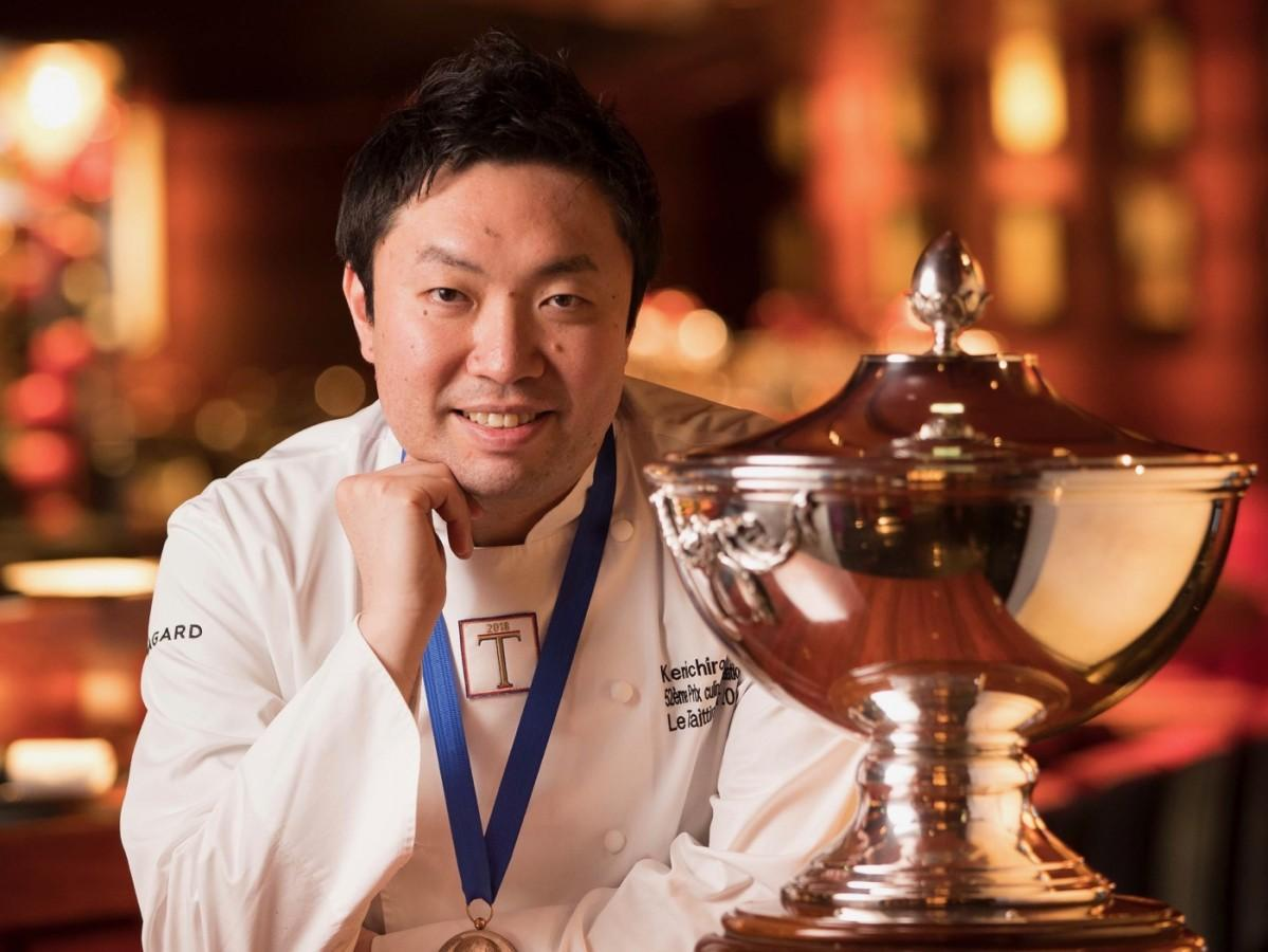 日本人として34年ぶりの優勝を果たした関谷健一朗シェフ