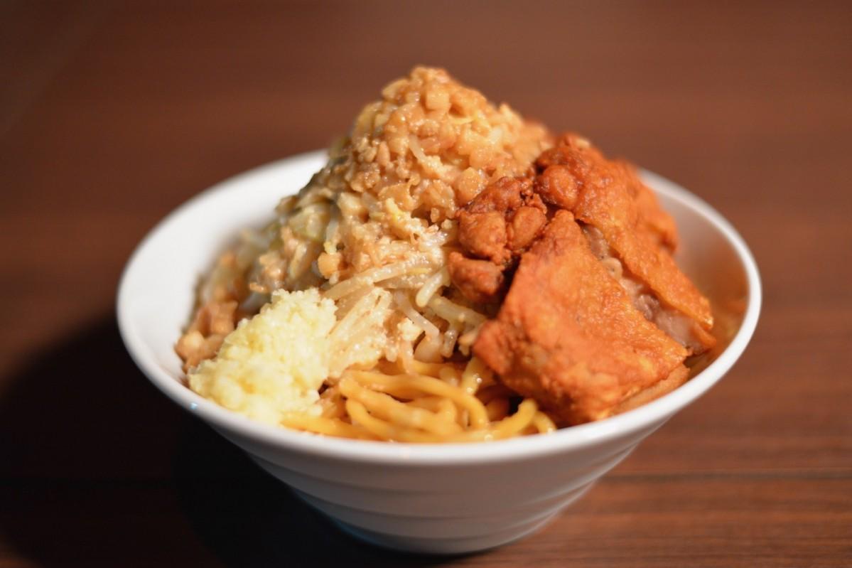 「鶏あぶら麺」