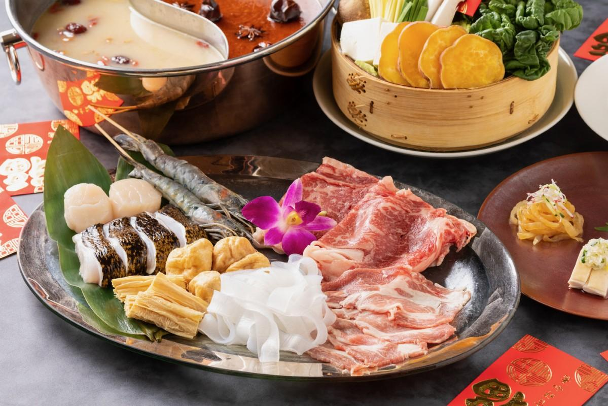チャイナルーム「漢方和牛の薬膳コラーゲン火鍋」のイメージ