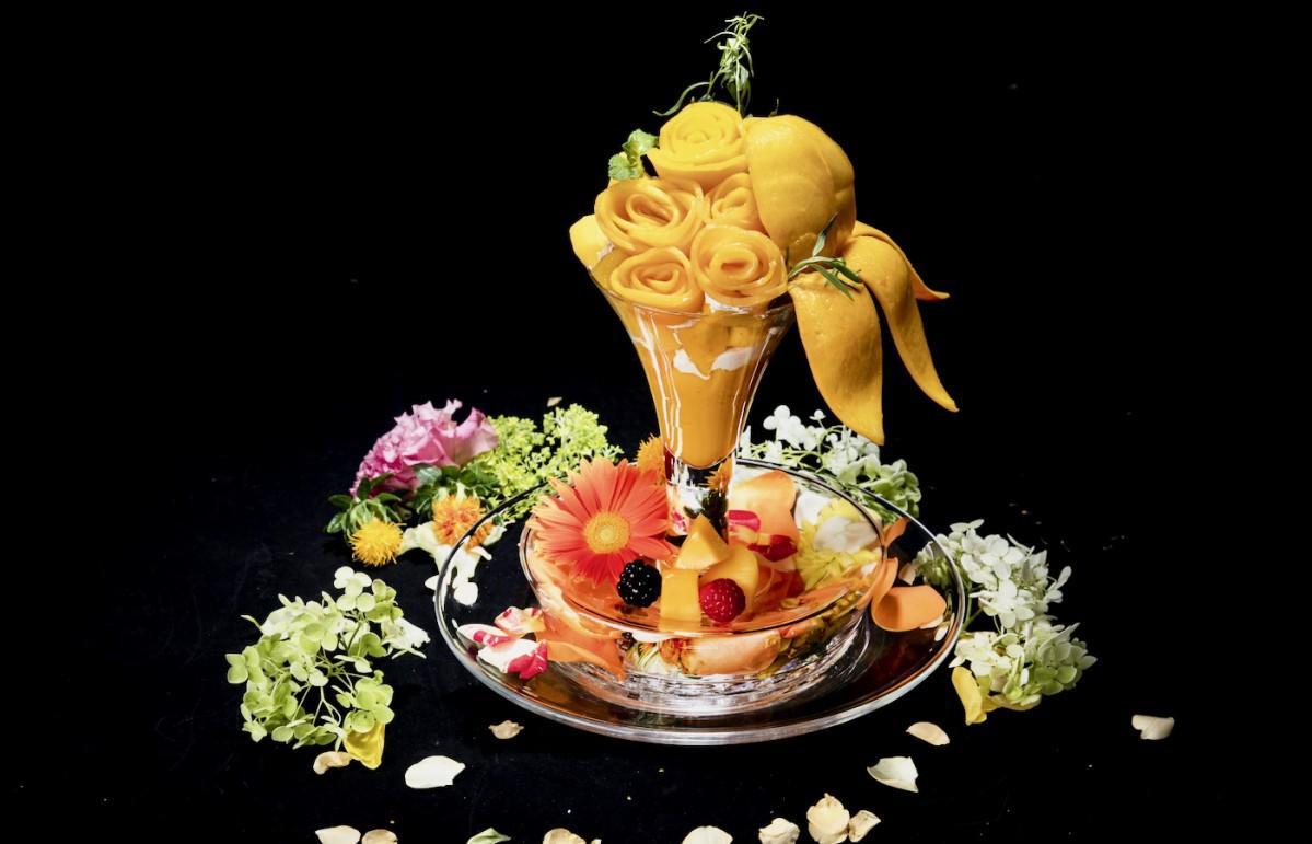 フルーツヴィーガンパフェ「マンゴー」