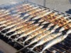 東京タワーで大船渡産サンマ3333匹無料配布 地元のプロの熟練技で調理