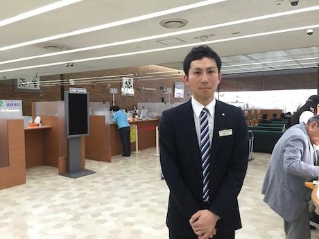 佐賀銀行ダイレクトチャネル室の栗林洋輔さん