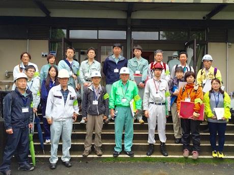 熊本県益城町で応急危険度判定活動を行った佐賀の民間「判定士」