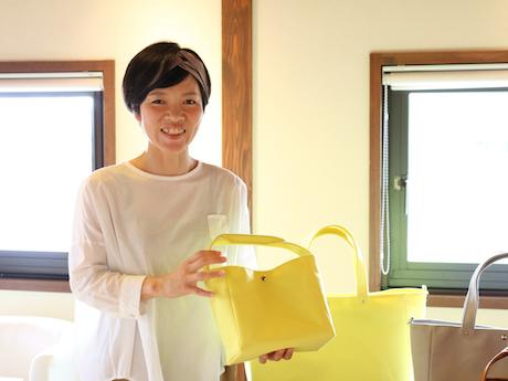 帆布バッグブランド「CUBIE」のタカオユミコさん