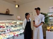 佐賀駅近くの老舗洋菓子店「ヒデシマ」が移転 高木瀬町に娘夫婦で新店舗