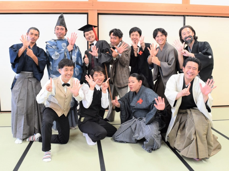 「6年目突入」をアピールする幕末・維新 佐賀の八賢人おもてなし隊