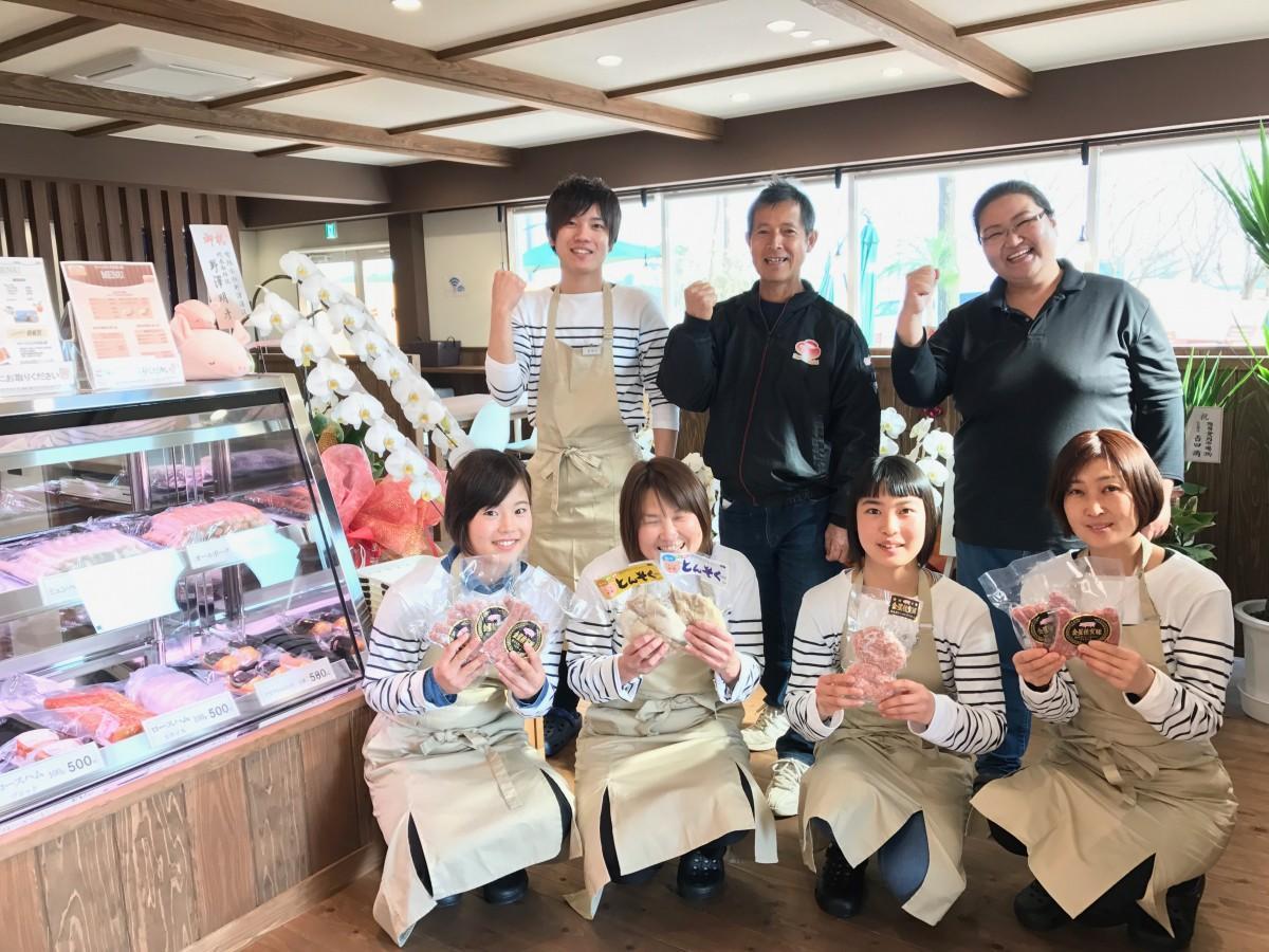 佐賀経済新聞・2017年1位にランクインした「ファームリンク金星屋」スタッフ