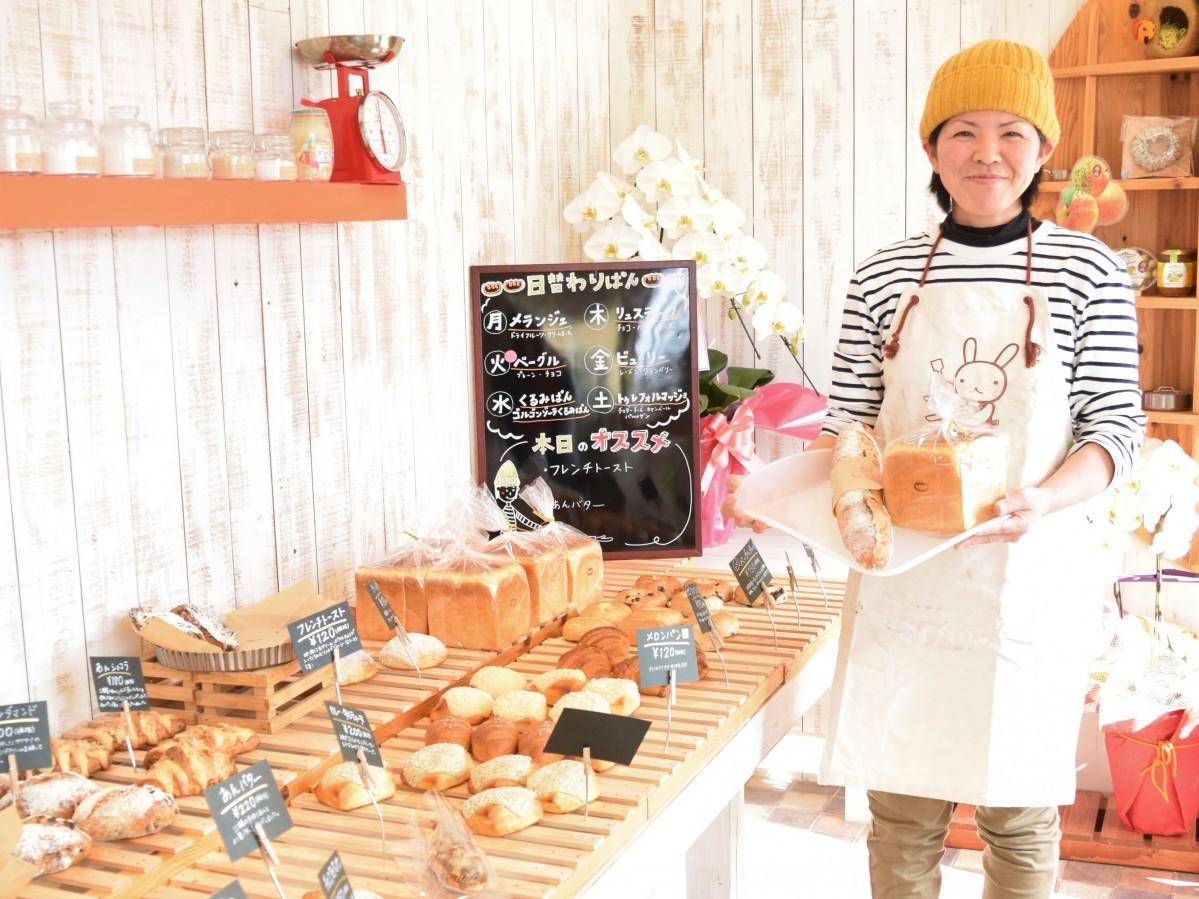 佐賀・神埼にパン店 硬い食感の「ハード系」パン主力に