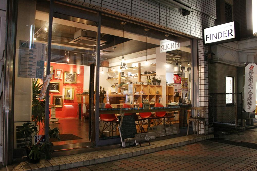 2月で8周年を迎えたカフェ&フォトギャラリー「FINDER」